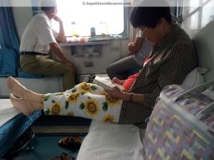 sleeper train 2nd class